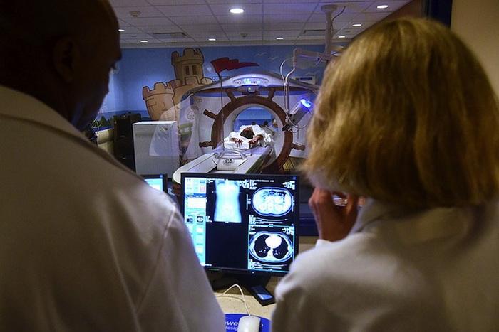 Врачи уверены, что мультяшный дизайн поможет снять напряжение у пациентов