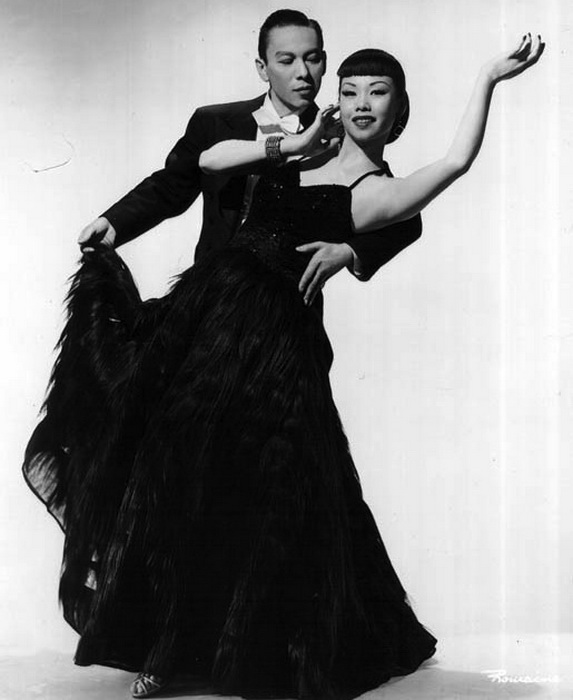 Танцоры, муж и жена Mai и Wilbur Tai Sing