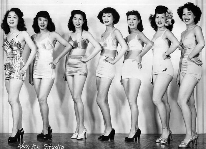 Первый конкурс красоты Мисс Чайна-таун, 1948 год
