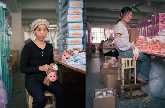 Фотопроект *The Real Toy Story* фотографа Michael Wolf о тяжелых буднях китайских рабочих