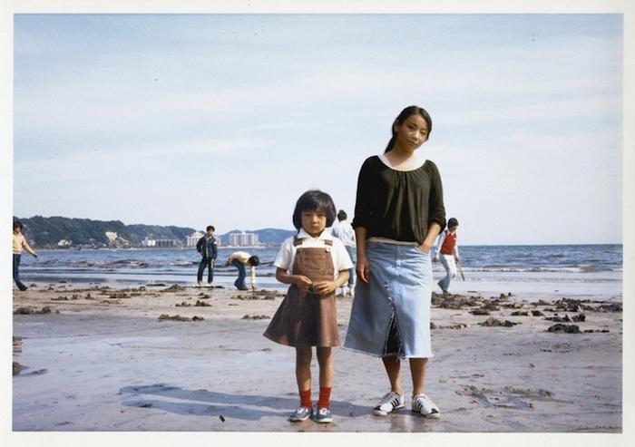 1976 и 2005, Камакура, Япония. Фотопроект от Чино Оцука (Chino Otsuka)