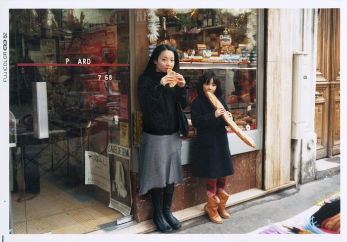 1982 и 2005, Париж, Франция. Фотопроект от Чино Оцука (Chino Otsuka)