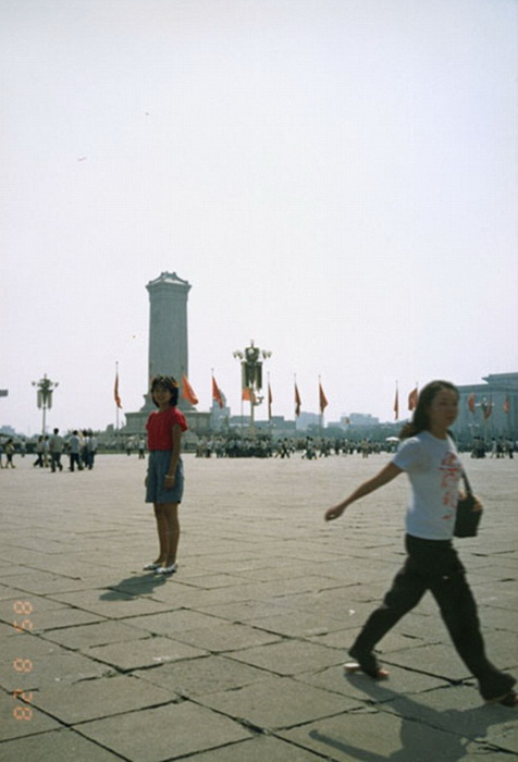 1985 и 2005, Площадь Тяньаньмэнь В Пекине, Китай