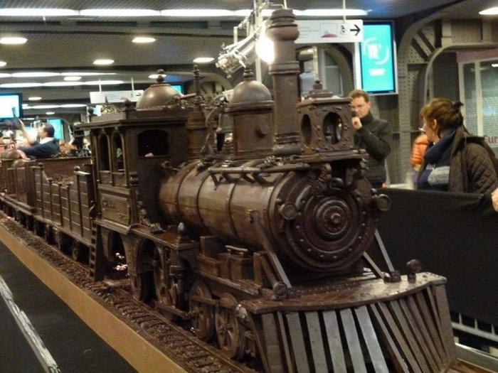 Шоколадный поезд от Andrew Farrugia