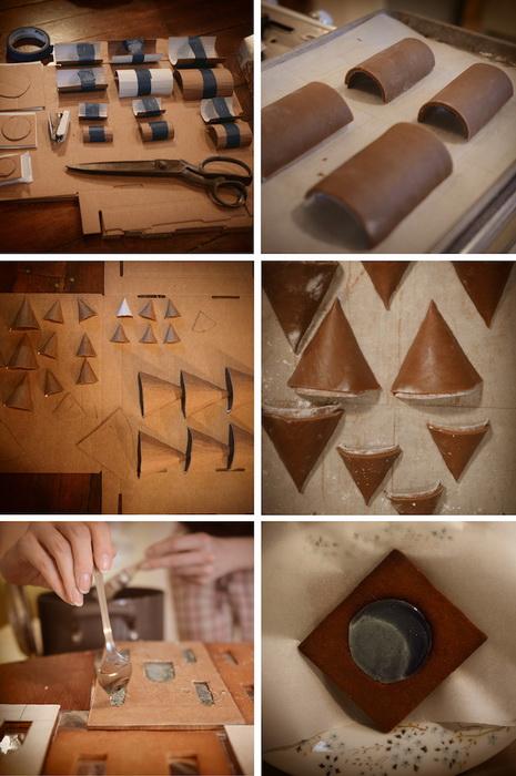 Как сделать пряничный домик: рабочий процесс