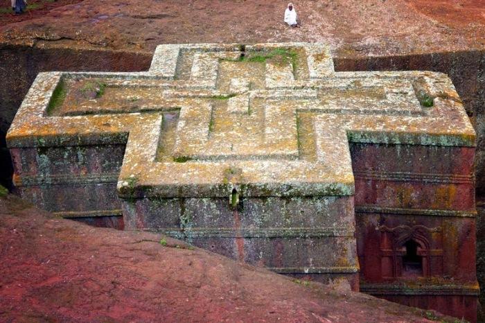 Церкви построены при правлении царя Лалибэла