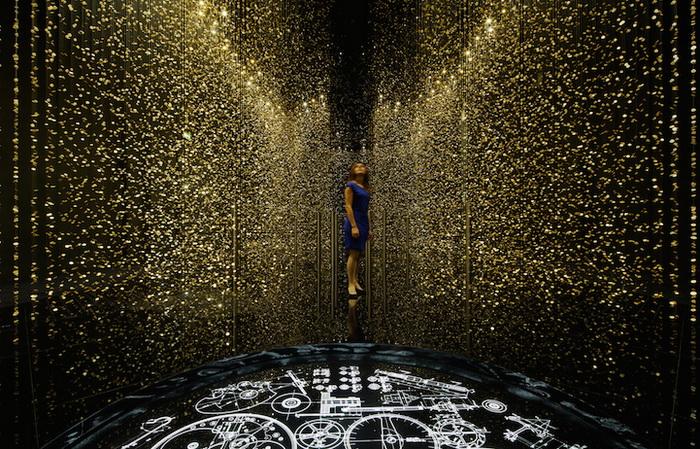 80 тысяч циферблатов в инсталляции от компании «CITIZEN»
