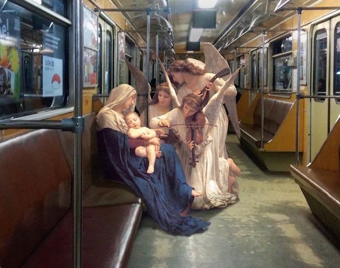 Коллаж от киевского дизайнера Алексея Кондакова