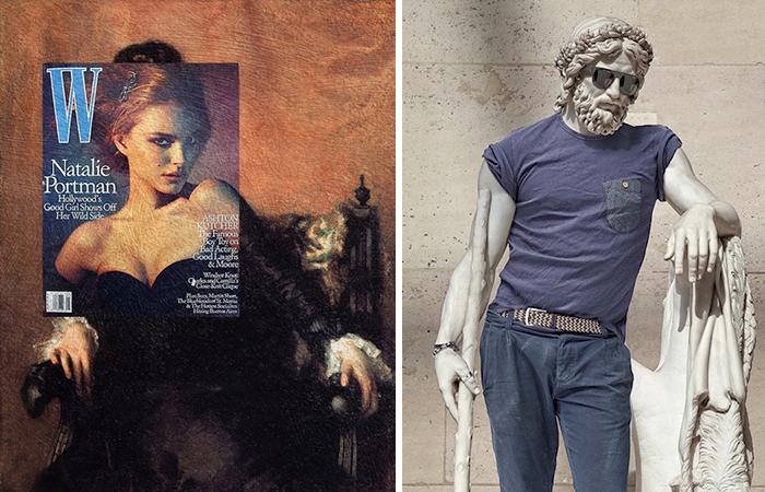 Современные художники переосмысляют классические произведения искусства
