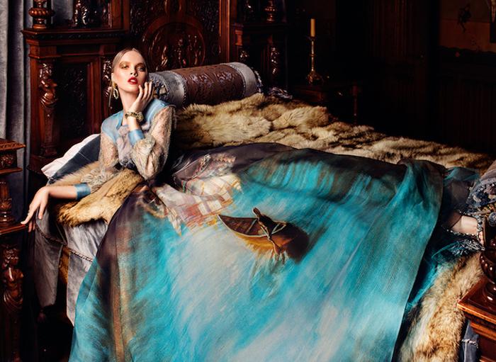 Платья-картины от дизайнера Светланы Лялиной