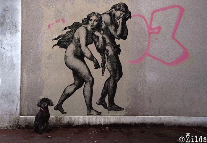 Стрит-арт от Zilda