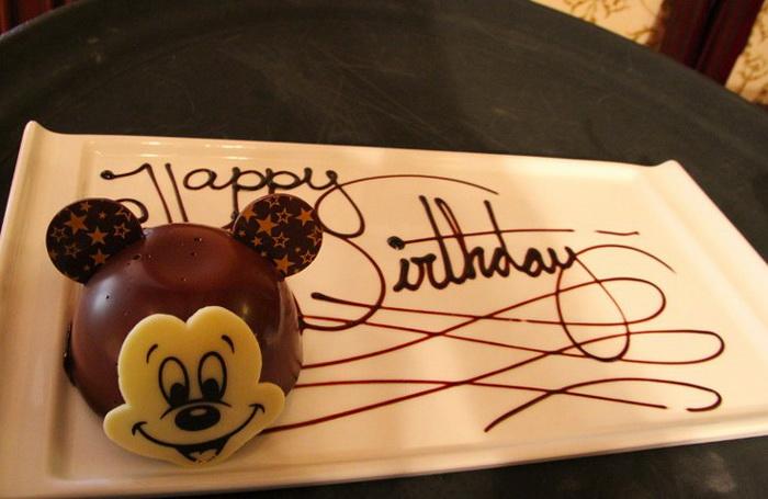 Десерт ко Дню рождения