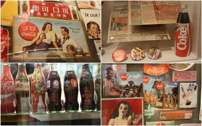 Американский тематический музей World of Coca-Cola