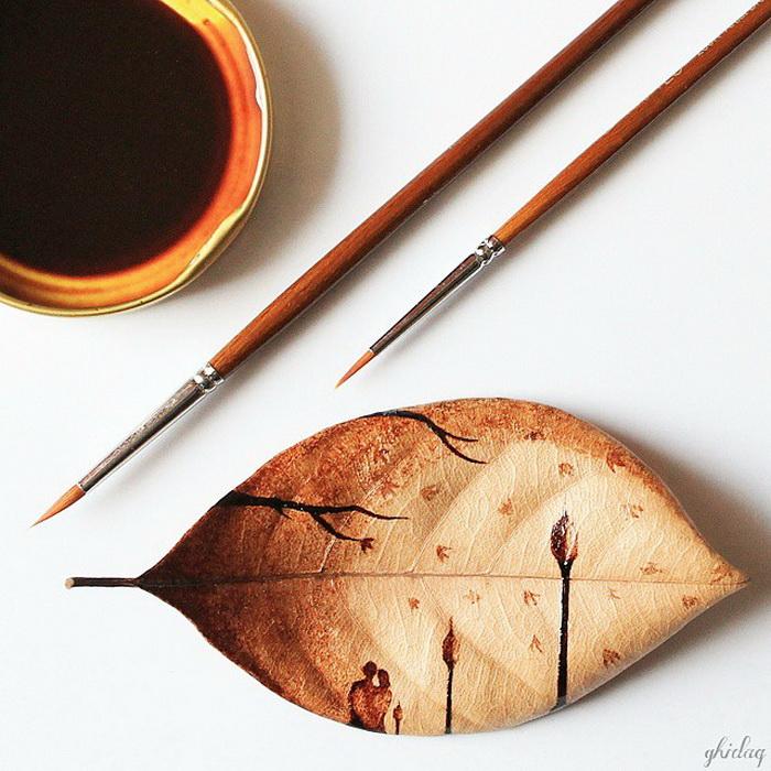 Романтика кофейных рисунков