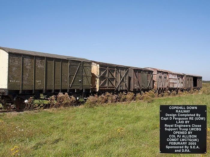 Железная дорога в Коупхилл Даун