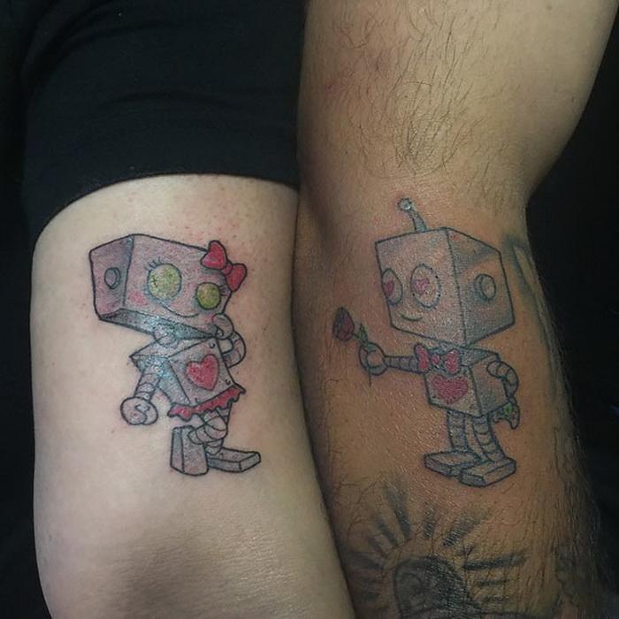Влюбленные роботы