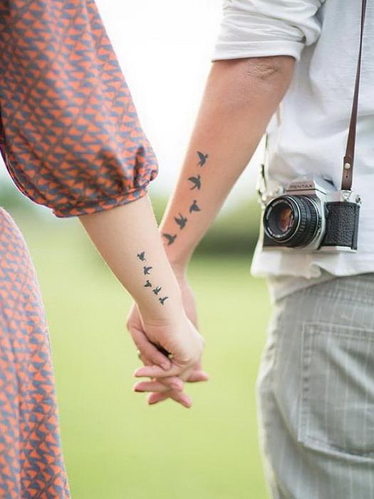 Романтичные ласточки