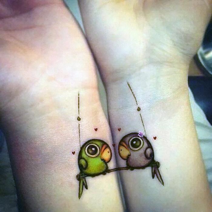 Забавные мультяшные птицы