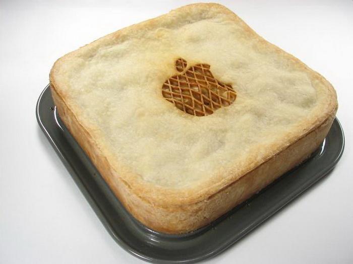 Яблочный пирог. В прямом смысле слова