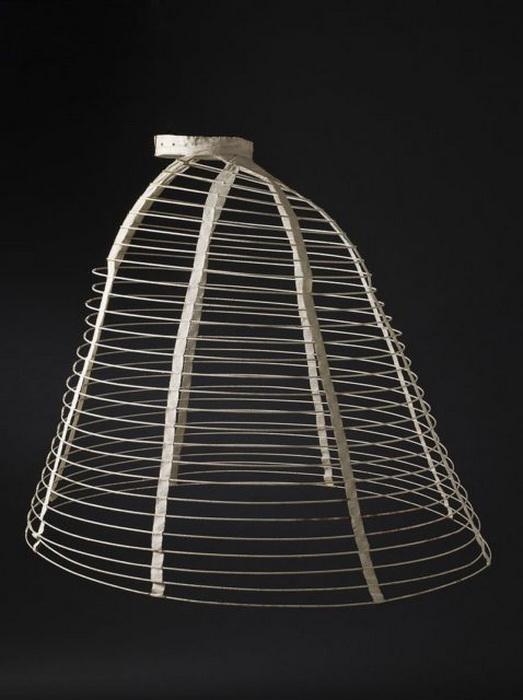 Каркас из стальных прутьев, 1865 год.
