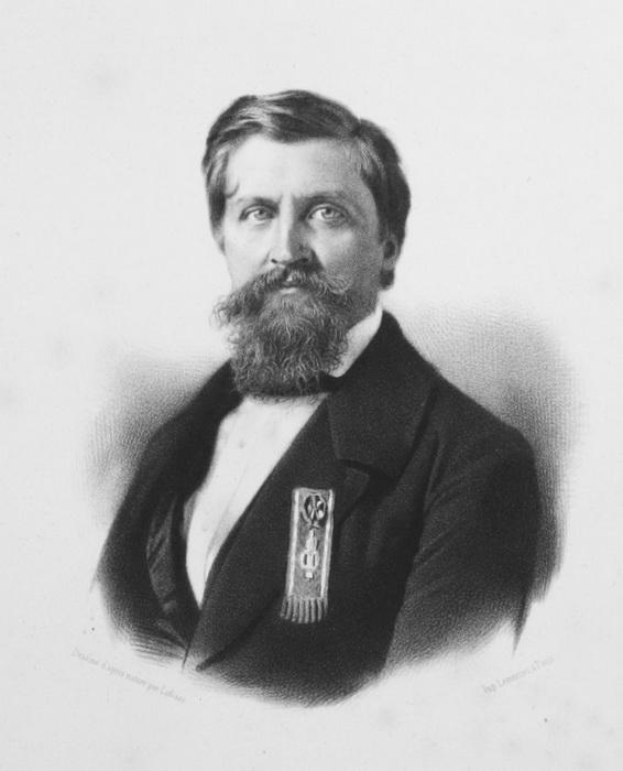 Портрет Дантеса