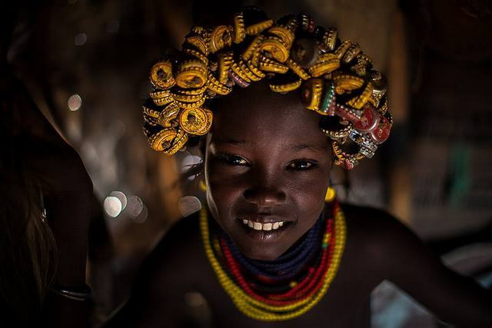 Африканские красавицы из племени дасанеч