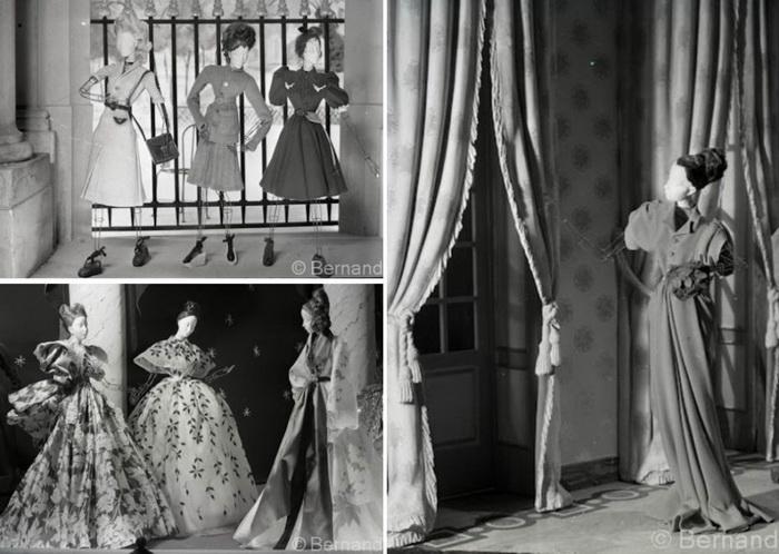 Показ мод с миниатюрными куклами состоялся сразу после Второй мировой войны.