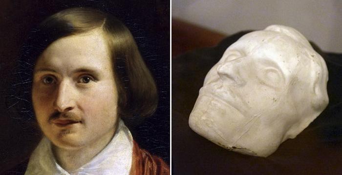 Посмертная маска Николая Гоголя