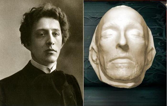 Посмертная маска Александра Блока
