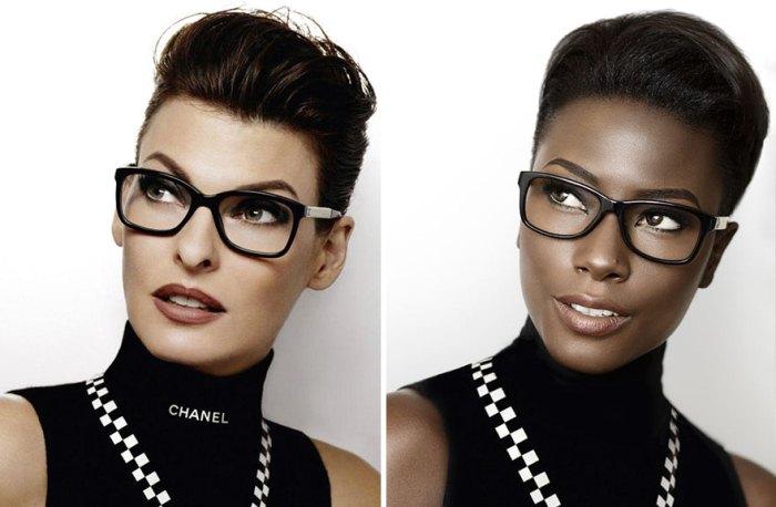 Chanel: классическая реклама и альтернатива от темнокожей модели
