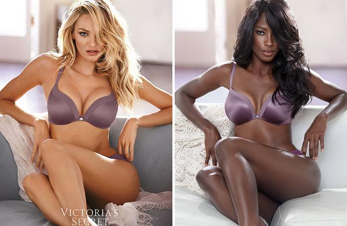 Victoria`s Secret: классическая реклама и альтернатива от темнокожей модели