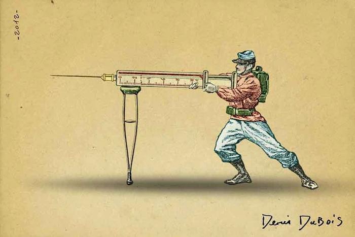 Сюрреалистические рисунки Дениса Дюбуа (Denis Dubois)