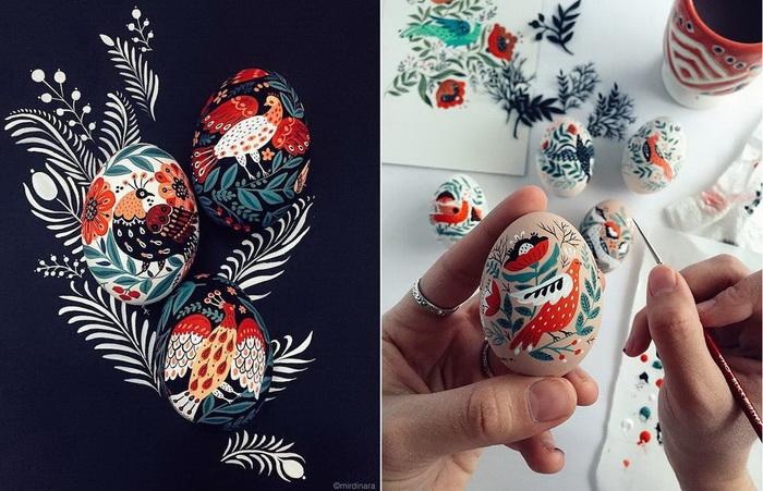 Пасхальные яйца от Динары Мирталиповой (Dinara Mirtalipova).