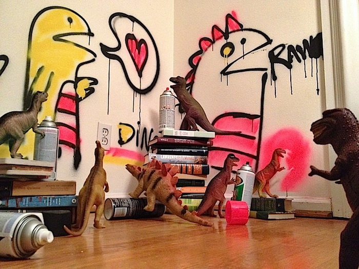 Диноябрь: ожившие динозавры в фотопроекте от Рефе Тума