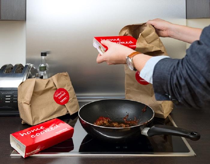 Британский ресторан Housebites предлагает клиентам не только готовую еду, но и грязную посуду
