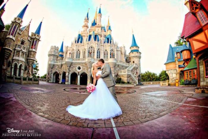 Свадьба в стиле Disney