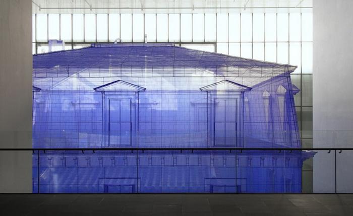 Дом внутри дома: инсталляция от корейского художника Ду Ху Са (Do Ho Suh)