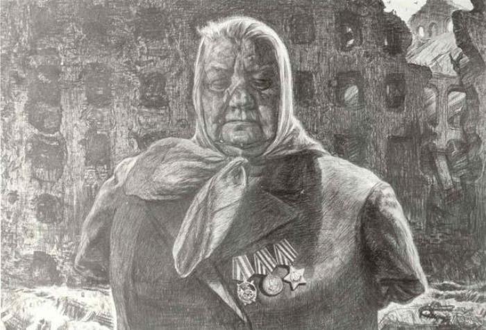 Опаленные войной. Автор: Геннадий Добров