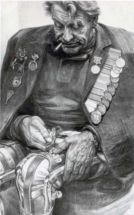 Фронтовик. Автор: Геннадий Добров