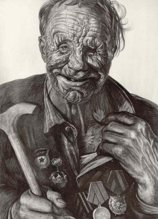 Защитник Невской Дубровки. Автор: Геннадий Добров
