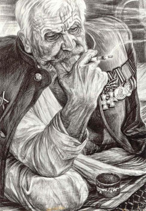 Старый воин. Автор: Геннадий Добров