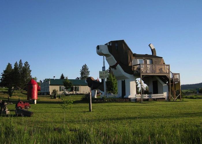 Dog Bark Park Inn - прекрасный отель для любителей собак