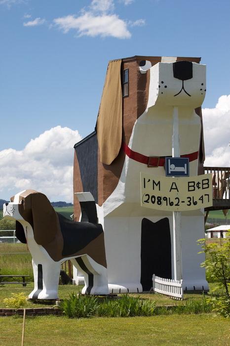 Супруги Деннис Салливан и Фрэнсис Конклин создали прекрасный отель Dog Bark Park Inn