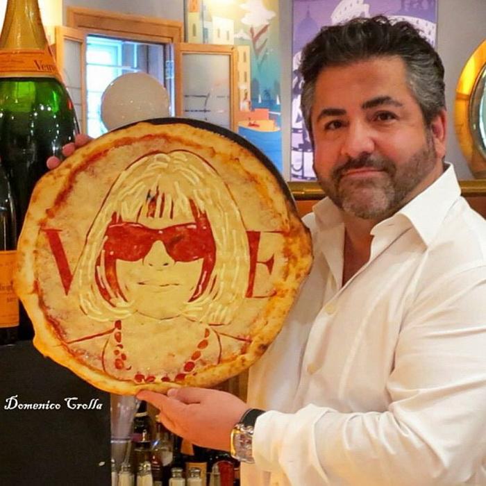 Доменико Кролла и его необычные пиццы-портреты