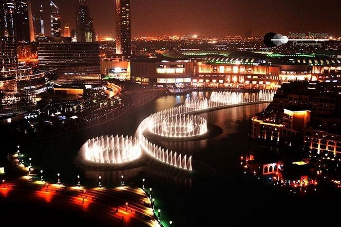 Дубай. Самый большой в мире музыкальный фонтан