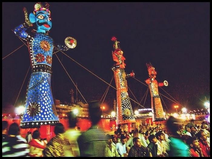 Праздник Дашахра в Индии