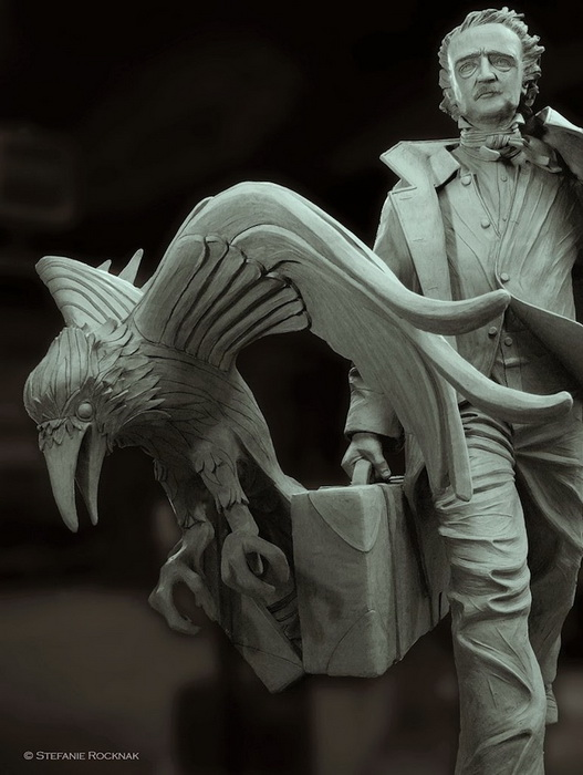 Автор проекта - скульптор Стефани Рокнак (Stefanie Rocknak)