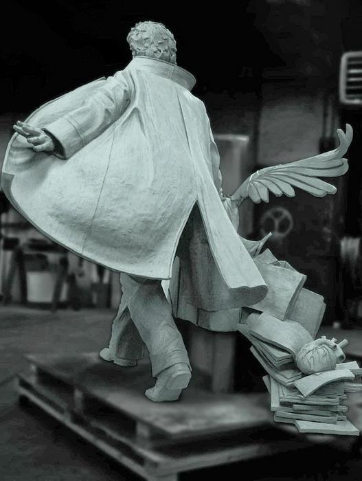 Проект памятника Эдгару Аллану По в Бостоне (Массачусетс, США)