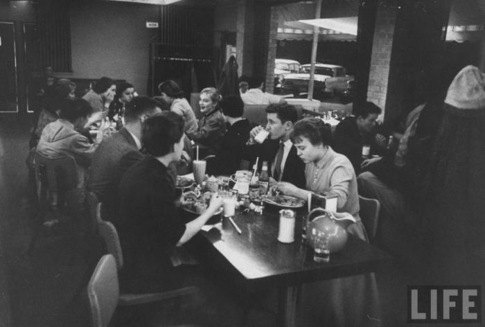 Ужин с друзьями.