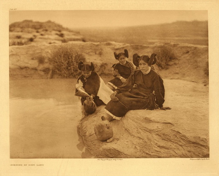 Жизнь американских индейцев на фотографиях Эдварда Шериффа Кертиса (Edward Sheriff Curtis)